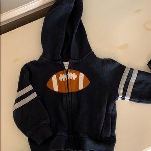 Gymboree boys zipper hoodie 12-18 months